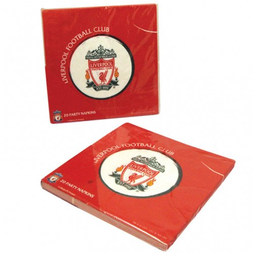 Child's Liverpool Football Club 20 Pack of Paper Napkins