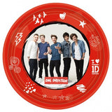 Plates - Child's 1D 8 Pack Of Paper Plates