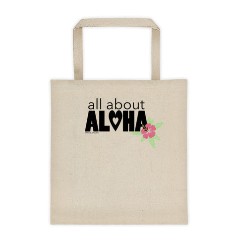 All About Aloha Tote bag