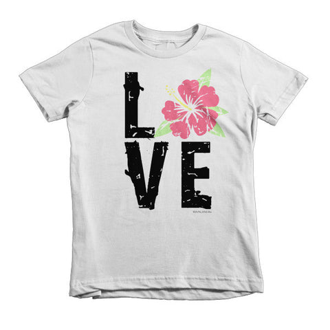 Hibiscus LOVE Kids T-Shirt