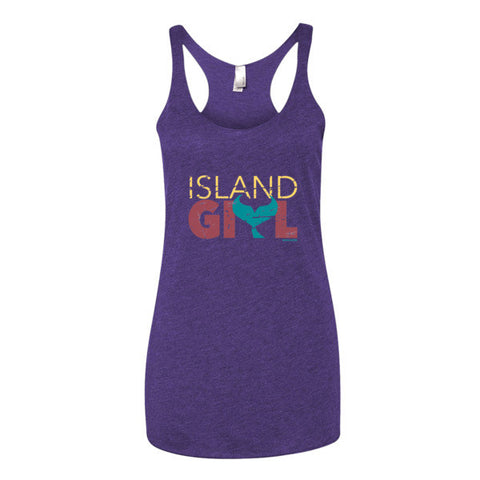 Island Girl Mermaid Womens Tank