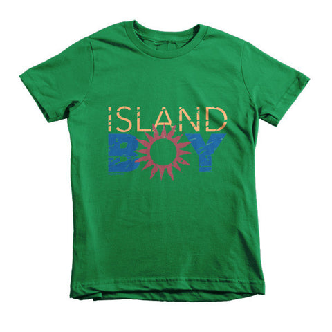 Island Boy Sun Kids T-Shirt