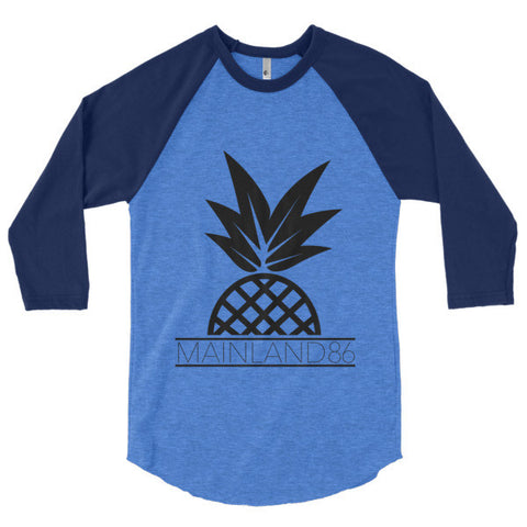 Mainland86 Pineapple Baseball Shirt