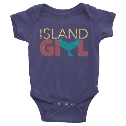 Island Girl Mermaid Tail Onesie