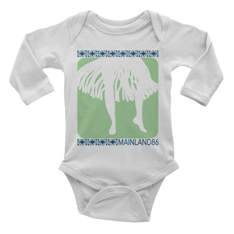 Hula Long Sleeve Onesie