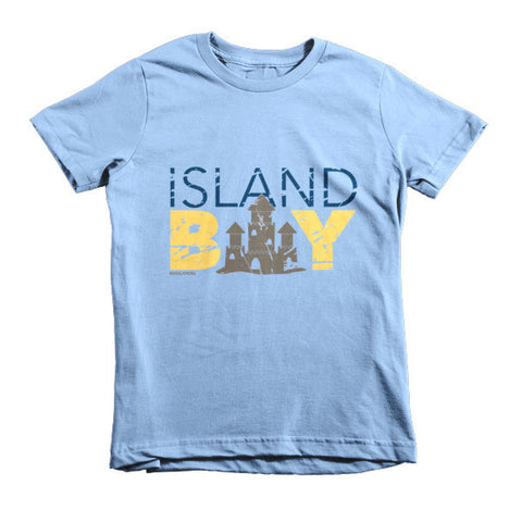 Island Boy Sandcastle Kids T-Shirt