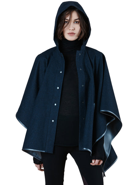 SC8052 Water Repellent Hooded Poncho