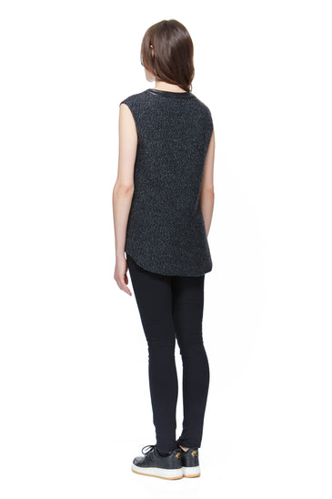 SC8032 Sweater V-Neck Tunic