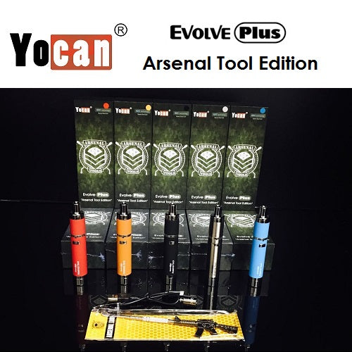 Official Yocan Evolve Plus Arsenal Tool Edition Wax Pen Kit Unboxing