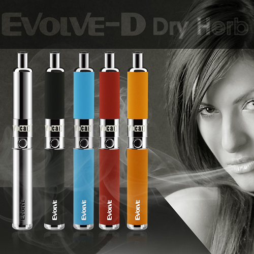 Official Yocan Evolve-D Dual Dry Herb Vape Pen Kit Unboxing