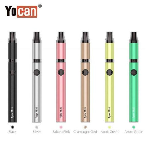 Yocan Apex Mini Variable Voltage Wax Pen Color Options Yocan USA
