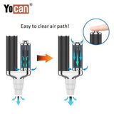 2 Yocan Torch XL 2020 Edition Air Path Operation Yocan USA