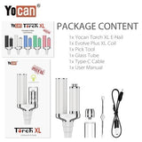 9 Yocan Torch XL 2020 Version Package Contents Yocan USA