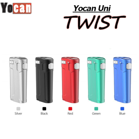 Yocan Uni Twist Wax Cartridge Battery