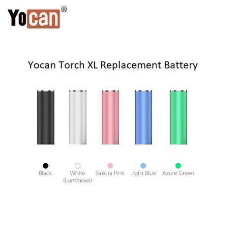 Yocan Torch XL 2200mAh Variable Voltage Replacement Battery YocanUSA Yocan USA