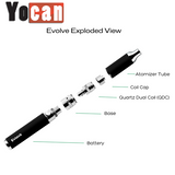 Yocan Evolve Rasta Edition Wax Vape Pen Kit