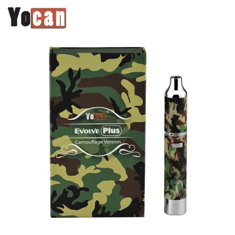 Yocan Evolve PLUS Camouflage Version Wax Vape Pen Kit