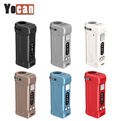 Yocan Uni Pro Variable Voltage Wax Cartridge Battery Mod