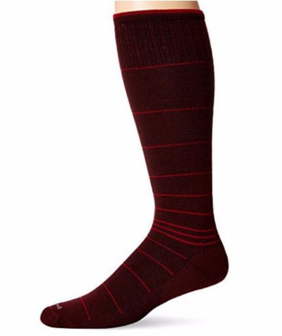 Sockwell Men's Port Red Circulator Moderate (15-20mmHg) Graduated Compression Socks Size 10-13