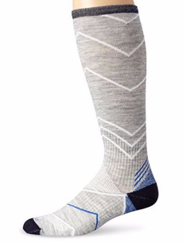 Sockwell Men's Light Grey Incline (15-20mmHg) Graduated Compression Socks Size 10-13