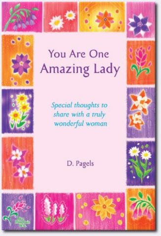You Are One Amazing Lady Paperback Book