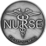 Nurse The Art Of Caring ID Security Badge Holder with Belt Clip - The Nurse Place - 5