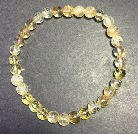 "7"" Citrine Happy Happy Joy Joy Bracelet"
