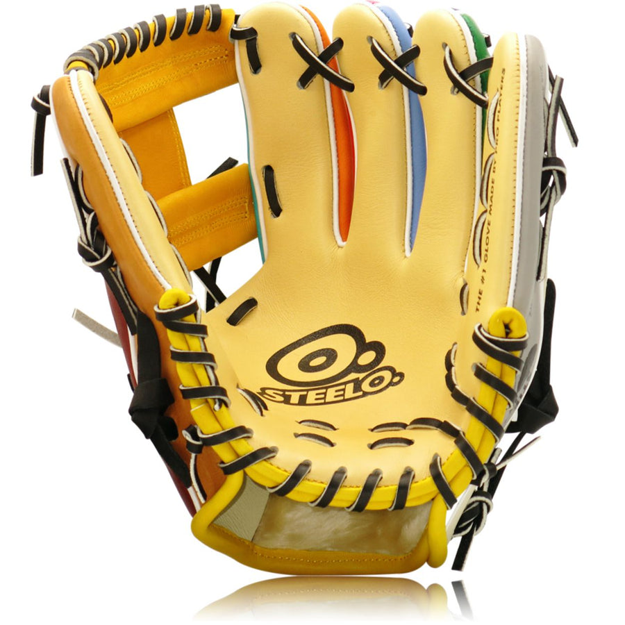 Rainbow Pack Custom Pro Series Infielders Glove - 11.50 Inch RHT