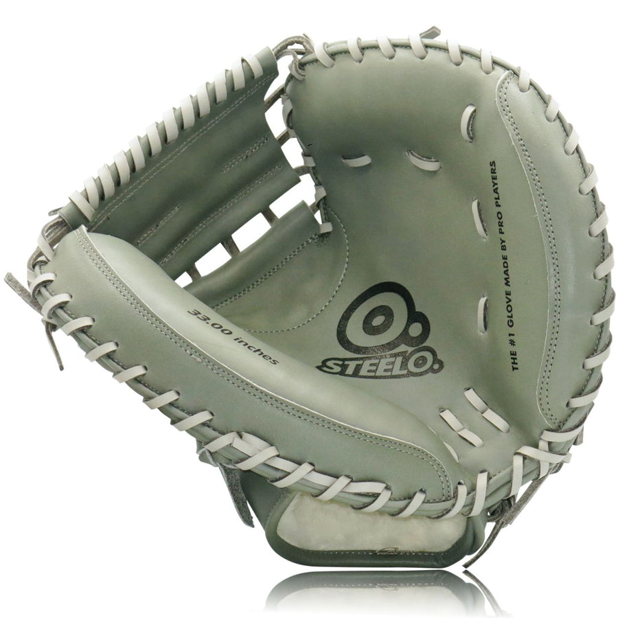 Turbo 1 Grey Stadium Status Pro Series Catcher's Mitt - 33.00 Inch