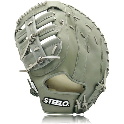 Turbo 1 Grey Stadium Status Pro Series First Baseman's Mitt - 12.50 Inch LHT