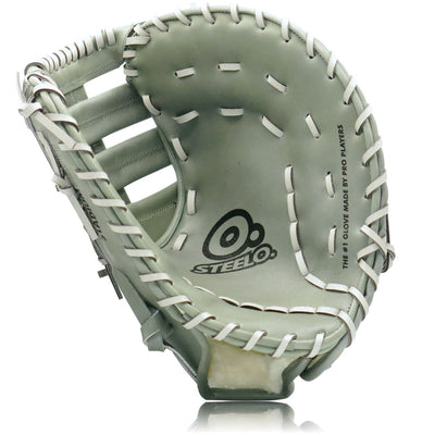 Turbo 1 Grey Stadium Status Pro Series First Baseman's Mitt - 12.50 Inch RHT