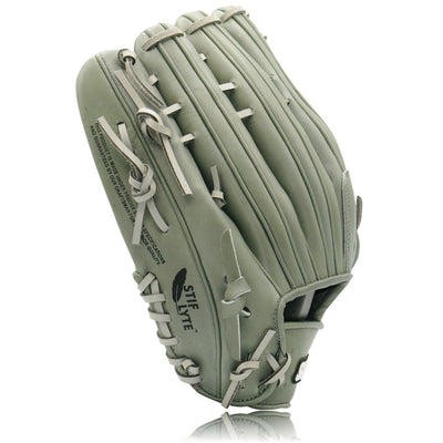 Turbo 1 Grey Stadium Status Pro Series Outfielder's Glove - 12.75 Inch RHT