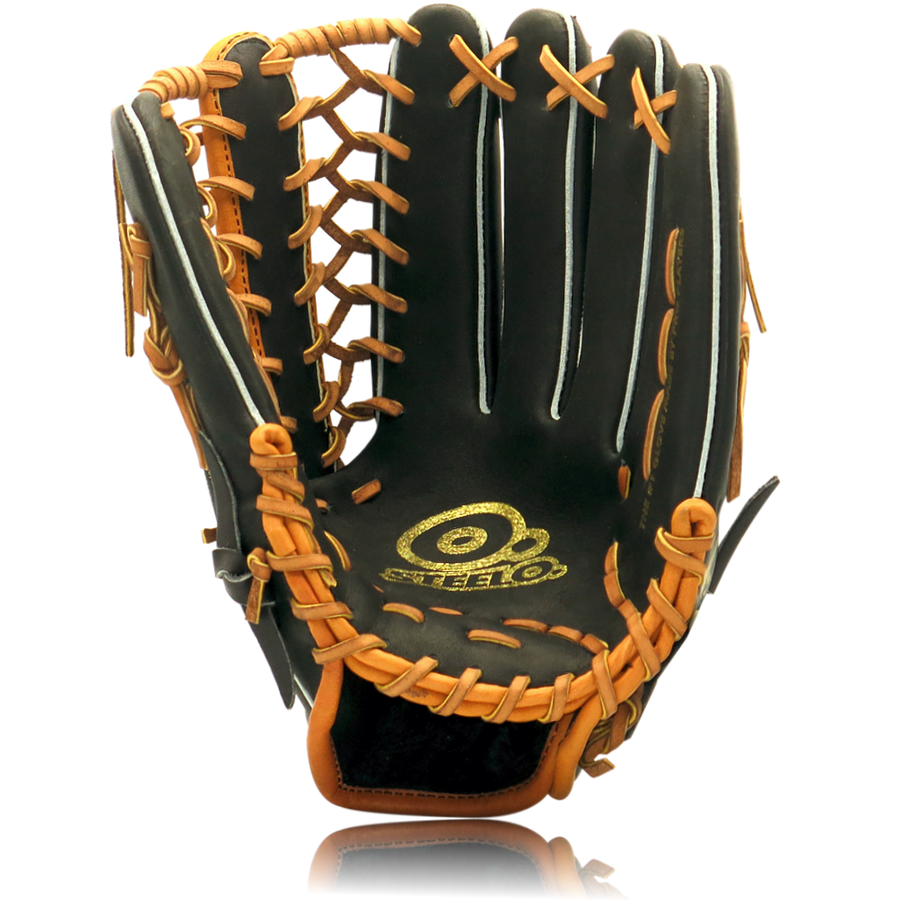Limited Edition STEELO2X19 Custom Pro-Steer Series Outfielder's Glove - 12.75 Inch RHT