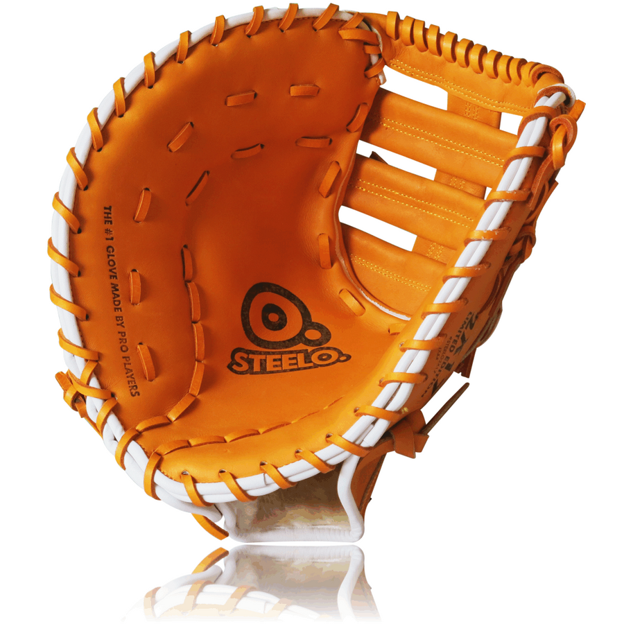 Limited Edition STEELO2X17 Custom Pro-Steer Series 1st Baseman's Mitt - 12.50 Inch LHT