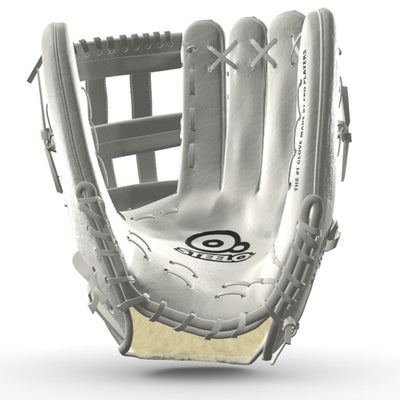 Steelo COWHYDE™ Custom Pro Limited Outfielder's Glove 3D Studio