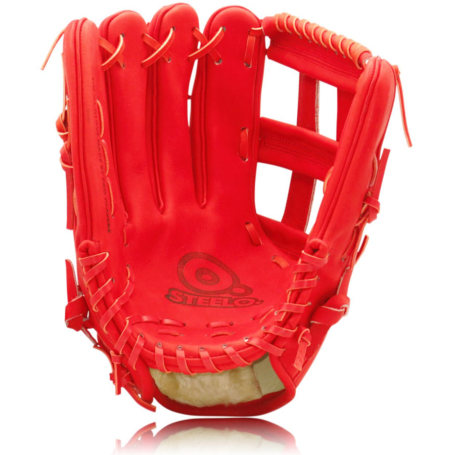 Red Turbo 3 Stadium Status Pro Series Outfielder's Glove - 12.75 Inch LHT