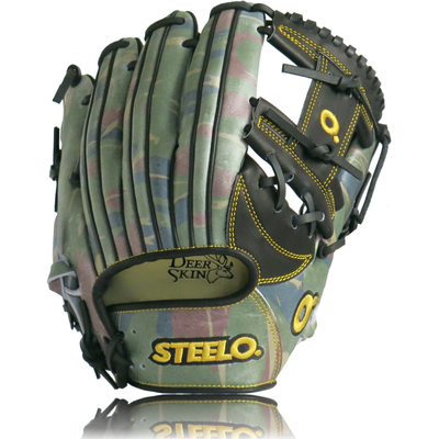 Limited Edition Camouflage Black Custom Pro-Kip Series Infielder's Glove - 11.75 Inch RHT