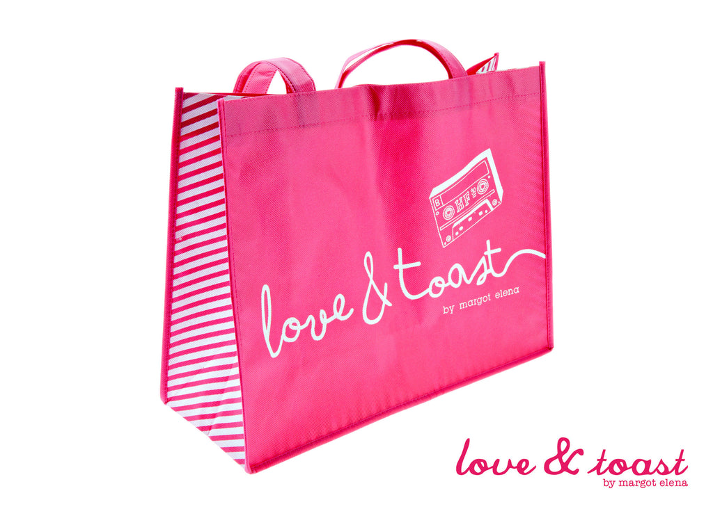 Love & Toast Shopping Bag