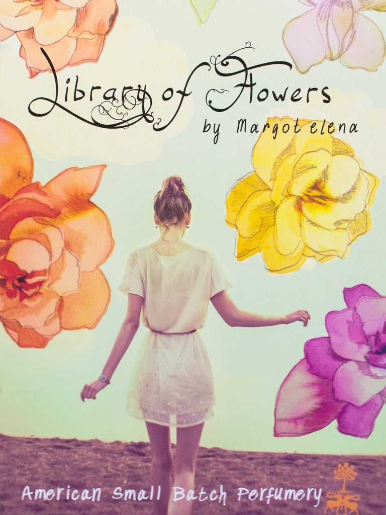 Library of Flowers Brand Poster (Flowers)