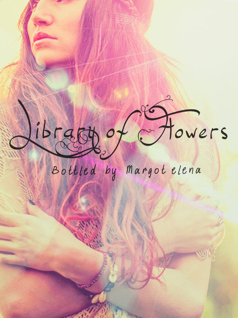 Library of Flowers Brand Poster (Sunspots)
