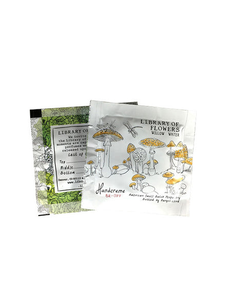 Willow & Water Handcreme Foil Packets