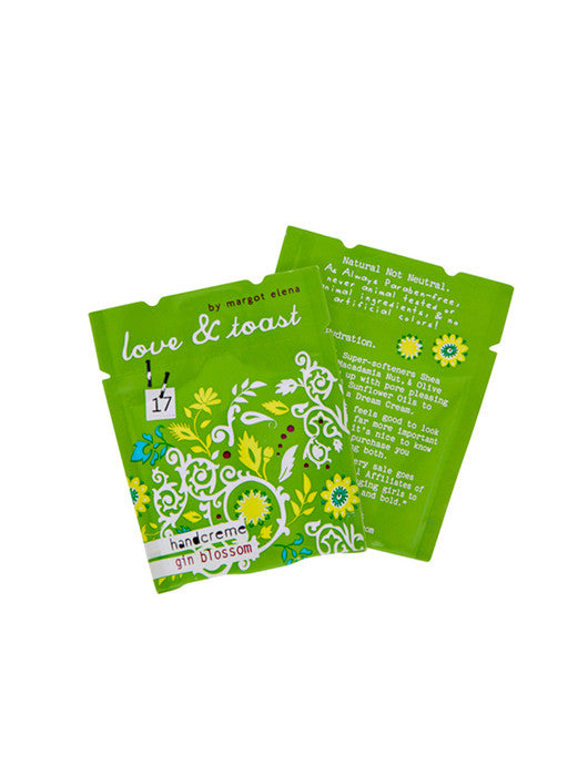 Gin Blossom Handcreme Foil Packets