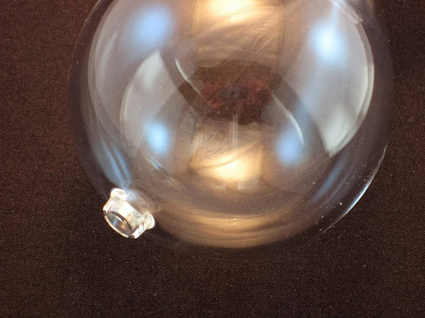 Empty Hourglass Globe 8 Inches