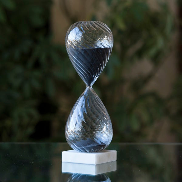 Freestanding Hourglass 60 Minute - Black or White