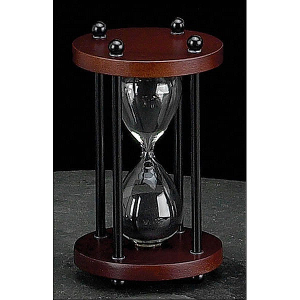 Walnut Hourglass 4 minute image