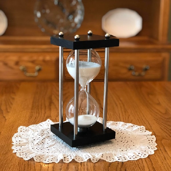 Square Hourglass Kit with Metal Spindles