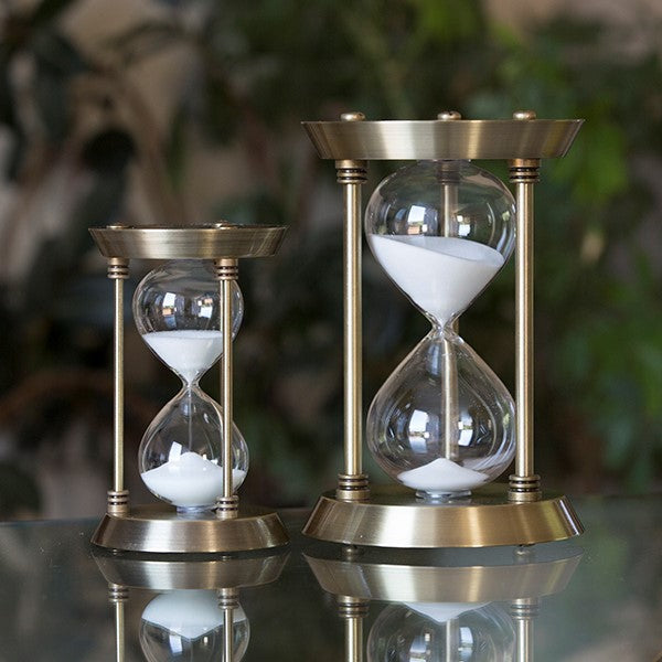 Antique Brass Metal Sand Timer
