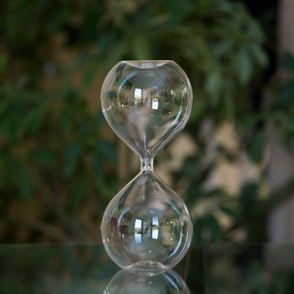 Large Freestanding Fillable Hourglass