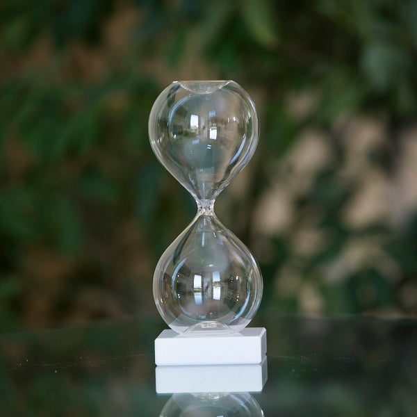 Freestanding Fillable Hourglass