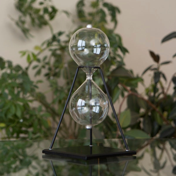 Modern Glass Timer Kit on Stand